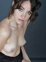 naked babe, Christelle C7  exposes her fantastic honkers