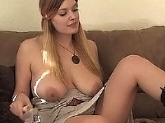 Big.Tits Vids: Danielle bangs herself with a dildo