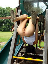 Naked Ass, tamara jade 04 playground bottle inside pussy