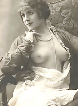 naked woman, Antique Nude Ladies